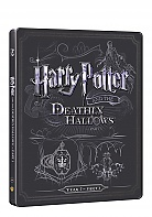 HARRY POTTER AND THE DEATHLY HALLOWS: PART 1 Steelbook™ Limited Collector's Edition + Gift Steelbook's™ foil (Blu-ray + DVD)