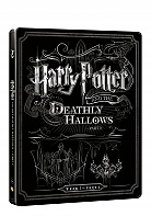HARRY POTTER AND THE DEATHLY HALLOWS: PART 2 Steelbook™ Limited Collector's Edition + Gift Steelbook's™ foil (Blu-ray + DVD)