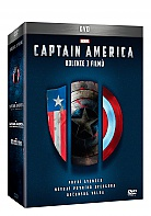 CAPTAIN AMERICA Trilogy 1-3: Captain America: The First Avenger + Captain America: The Winter Soldier + Captain America: Civil War Collection (3 DVD)