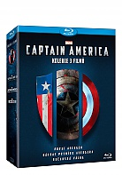 CAPTAIN AMERICA Trilogy 1 - 3: Captain America: The First Avenger + Captain America: The Winter Soldier + Captain America: Civil War Collection (3 Blu-ray)