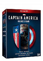 Captain America trilogy 1-3: Captain America: The First Avenger + Captain America: The Winter Soldier + Captain America: Civil War 3D + 2D Collection (3 Blu-ray 3D + 3 Blu-ray)