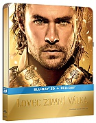The Huntsman Winter's War 3D + 2D Steelbook™ Extended cut Limited Collector's Edition + Gift for Collectors (Blu-ray 3D + Blu-ray)