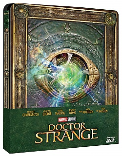 DOCTOR STRANGE 3D + 2D Steelbook™ Limited Collector's Edition + Gift Steelbook's™ foil + Gift for Collectors