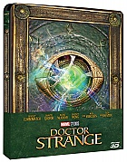 DOCTOR STRANGE 3D + 2D Steelbook™ Limited Collector's Edition + Gift Steelbook's™ foil + Gift for Collectors (Blu-ray 3D + Blu-ray)