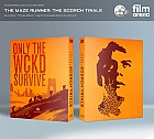 FAC #43 MAZE RUNNER: The Scorch Trials Lenticular FullSlip EDITION 2 Steelbook™ Limited Collector's Edition - numbered + Gift Steelbook's™ foil (Blu-ray)