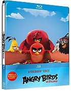 The Angry Birds Movie 3D + 2D Steelbook™ Limited Collector's Edition + Gift Steelbook's™ foil (Blu-ray 3D + Blu-ray)