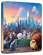 THE SECRET LIFE OF PETS 3D + 2D Steelbook™ Limited Collector's Edition + Gift Steelbook's™ foil + Gift for Collectors (Blu-ray 3D + Blu-ray)