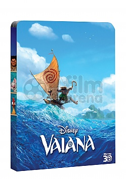 MOANA 3D + 2D Steelbook™ Limited Collector's Edition + Gift Steelbook's™ foil