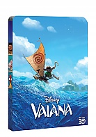 MOANA 3D + 2D Steelbook™ Limited Collector's Edition + Gift Steelbook's™ foil (Blu-ray 3D + Blu-ray)