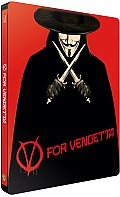 V FOR VENDETTA Steelbook™ Limited Collector's Edition + Gift Steelbook's™ foil (Blu-ray)