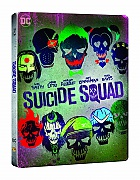 SUICIDE SQUAD 3D + 2D Steelbook™ Extended cut Limited Collector's Edition + Gift Steelbook's™ foil (Blu-ray 3D + 2 Blu-ray)