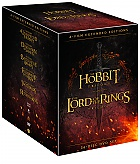 Middle Earth Collection Extended cut (36 DVD)