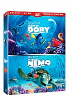 Finding Nemo + Finding Dory 3D + 2D Collection (2 Blu-ray 3D + 2 Blu-ray)