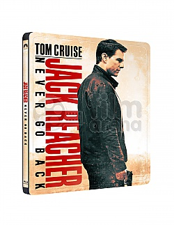 JACK REACHER: Never Go Back Steelbook™ Limited Collector's Edition + Gift Steelbook's™ foil