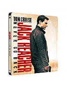 JACK REACHER: Never Go Back Steelbook™ Limited Collector's Edition + Gift Steelbook's™ foil (Blu-ray)