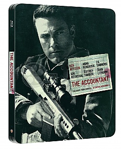 THE ACCOUNTANT Steelbook™ Limited Collector's Edition + Gift Steelbook's™ foil