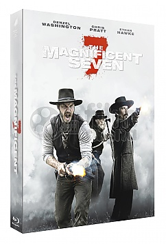 FAC #63 THE MAGNIFICENT SEVEN (2016) FullSlip + Lenticular magnet Steelbook™ Limited Collector's Edition - numbered