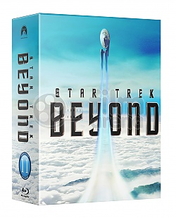 FAC #81 STAR TREK BEYOND HARDBOX FULLSLIP Edition 3 (Double Pack E1 + E2) 3D + 2D Steelbook™ Limited Collector's Edition - numbered