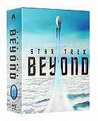 FAC #81 STAR TREK BEYOND HARDBOX FULLSLIP Edition 3 (Double Pack E1 + E2) 3D + 2D Steelbook™ Limited Collector's Edition - numbered (2 Blu-ray 3D + 2 Blu-ray)