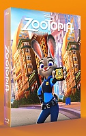 FAC #62 ZOOTOPIA EDITION #2 Lenticular FullSlip 3D + 2D Steelbook™ Limited Collector's Edition - numbered (Blu-ray 3D + Blu-ray)