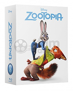 FAC #62 ZOOTOPIA EDITION #3 HARDBOX FullSlip 3D + 2D Steelbook™ Limited Collector's Edition - numbered