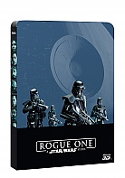 ROGUE ONE: Star Wars Story 3D + 2D Steelbook™ Limited Collector's Edition (Blu-ray 3D + 2 Blu-ray)
