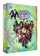 FAC --- SUICIDE SQUAD Edition 1 3D + 2D Steelbook™ Extended cut Limited Collector's Edition - numbered (Blu-ray 3D + 2 Blu-ray)