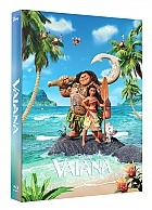 FAC #78 VAIANA FullSlip + Lenticular Magnet EDITION #1 3D + 2D Steelbook™ Limited Collector's Edition - numbered (Blu-ray 3D + Blu-ray)
