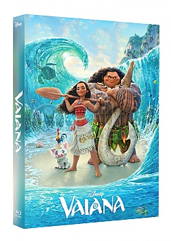 FAC # 78 VAIANA LENTICULAR 3D FULLSLIP EDITION #2 3D + 2D Steelbook™ Limited Collector's Edition - numbered