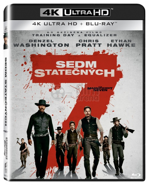 The Magnificent Seven 2016 4k Ultra Hd 2 Blu Ray