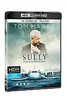 SULLY: Zázrak na řece Hudson 4K Ultra HD (2 Blu-ray)
