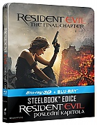 Resident Evil: The Final Chapter 3D + 2D Steelbook™ Limited Collector's Edition + Gift Steelbook's™ foil (Blu-ray 3D + Blu-ray)
