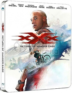 xXx: The Return of Xander Cage 3D + 2D Steelbook™ Limited Collector's Edition + Gift Steelbook's™ foil
