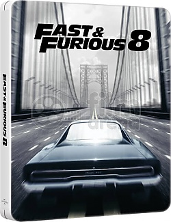 The Fate of the Furious Steelbook™ Limited Collector's Edition + Gift Steelbook's™ foil