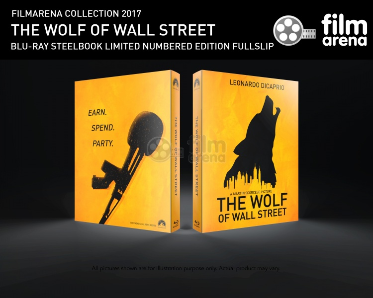 FAC THE WOLF OF WALL STREET FullSlip Loyalty GIFT Steelbook - The wolf of wall streets ferrari is now up for sale