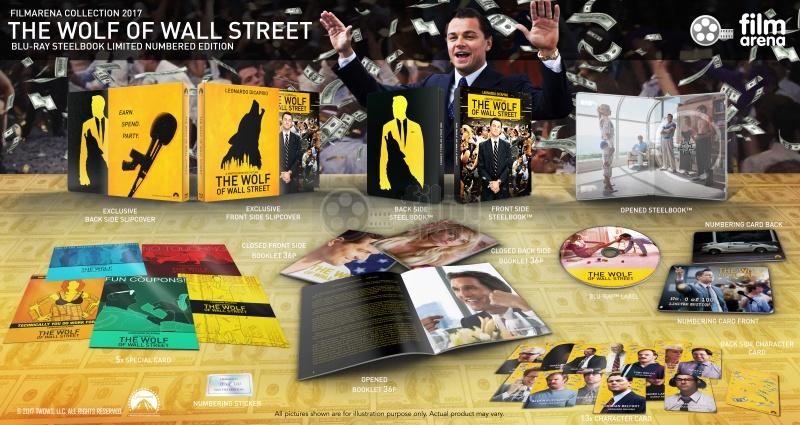 FAC #70 THE WOLF OF WALL STREET FullSlip (Loyalty GIFT) Steelbook ...