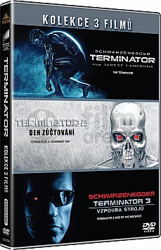 TERMINÁTOR 1 - 3 Collection