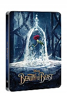 BEAUTY AND THE BEAST 3D + 2D Steelbook™ Limited Collector's Edition + Gift Steelbook's™ foil (Blu-ray 3D + Blu-ray)