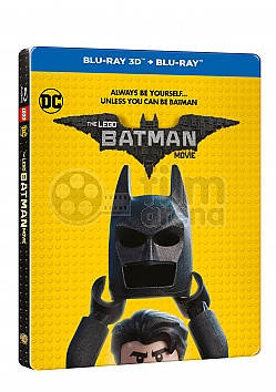 THE LEGO BATMAN MOVIE 3D + 2D Steelbook™ Limited Collector's Edition + Gift Steelbook's™ foil