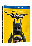 THE LEGO BATMAN MOVIE 3D + 2D Steelbook™ Limited Collector's Edition + Gift Steelbook's™ foil (Blu-ray 3D + Blu-ray)