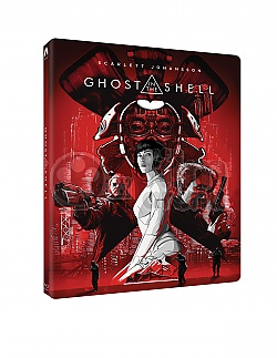 GHOST IN THE SHELL 4K Ultra HD 3D + 2D Steelbook™ Limited Collector's Edition