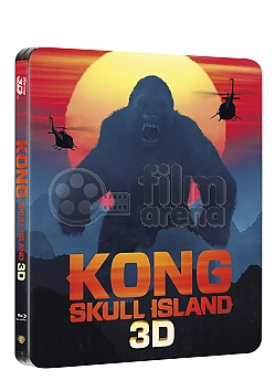 KONG: Skull Island 3D + 2D Steelbook™ Limited Collector's Edition + Gift Steelbook's™ foil