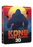 KONG: Skull Island 3D + 2D Steelbook™ Limited Collector's Edition + Gift Steelbook's™ foil (Blu-ray 3D + Blu-ray)