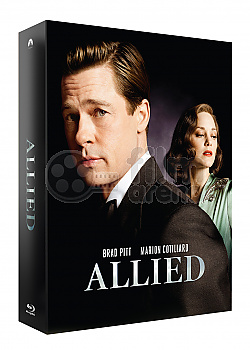 FAC #137 ALLIED Lenticular 3D FullSlip XL EDITION #2 Steelbook™ Limited Collector's Edition - numbered