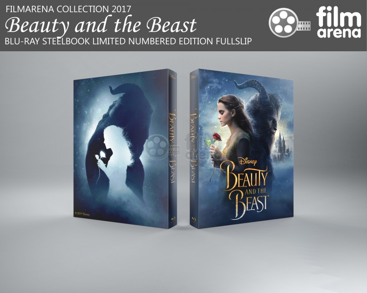 beauty and the beast 2017 3d blu ray release date