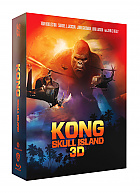 FAC #147 KONG: Skull Island DOUBLE 3D LENTICULAR FULLSLIP XL + Lenticular Magnet 3D + 2D Steelbook™ Limited Collector's Edition - numbered (Blu-ray 3D + Blu-ray)