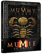 The Mummy Returns Steelbook™ Limited Collector's Edition + Gift Steelbook's™ foil