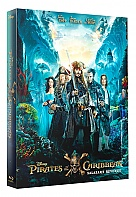 FAC #104 PIRATES OF THE CARIBBEAN: Salazar's Revenge FULLSLIP + Lentikulární Magnet 3D + 2D Steelbook™ Limited Collector's Edition - numbered (Blu-ray 3D + Blu-ray)
