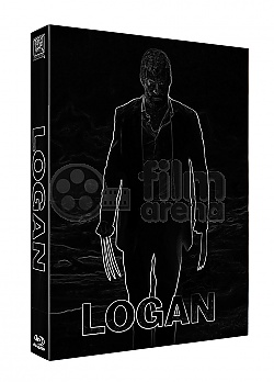 FAC #77 LOGAN FullSlip + PET SLIP O-RING Black & White EDITION #3 Steelbook™ Limited Collector's Edition - numbered