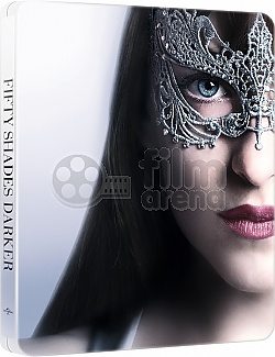 FIFTY SHADES DARKER Steelbook™ Limited Collector's Edition + Gift Steelbook's™ foil